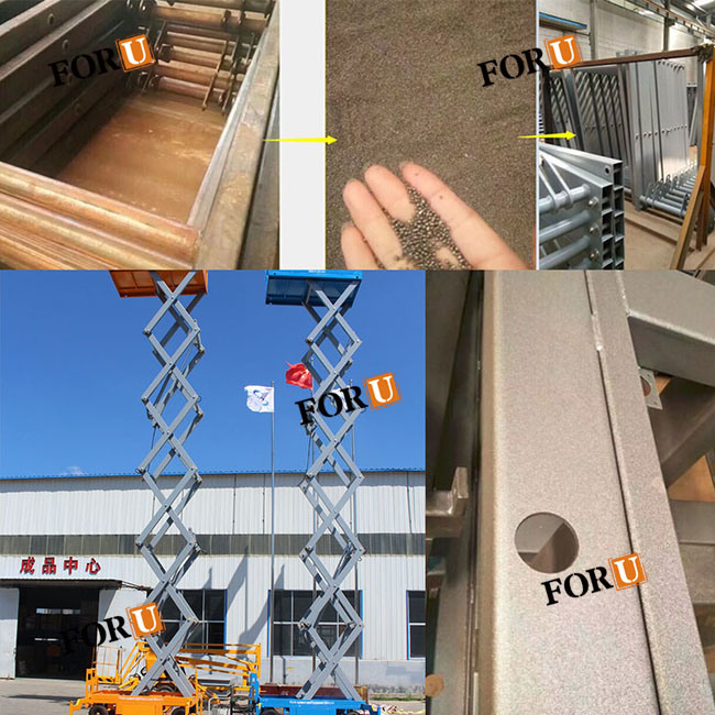6m 500kg Mobile Double Scissor Lift Table for Sale