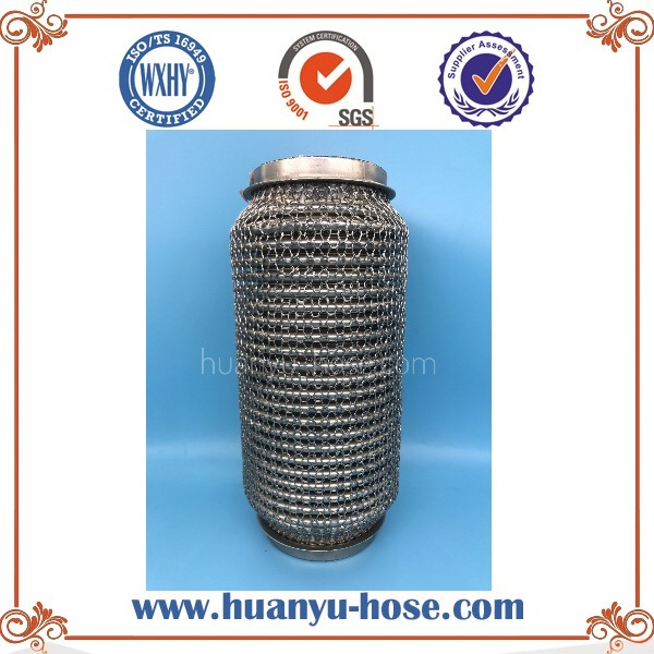 Auto Stainless Steel Knitting Net Exhaust Flexible Pipe