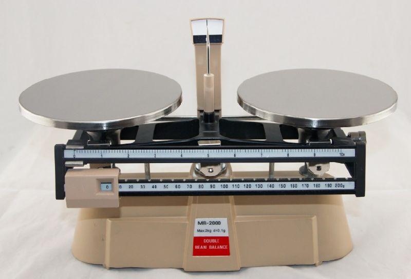 Balance beam scale