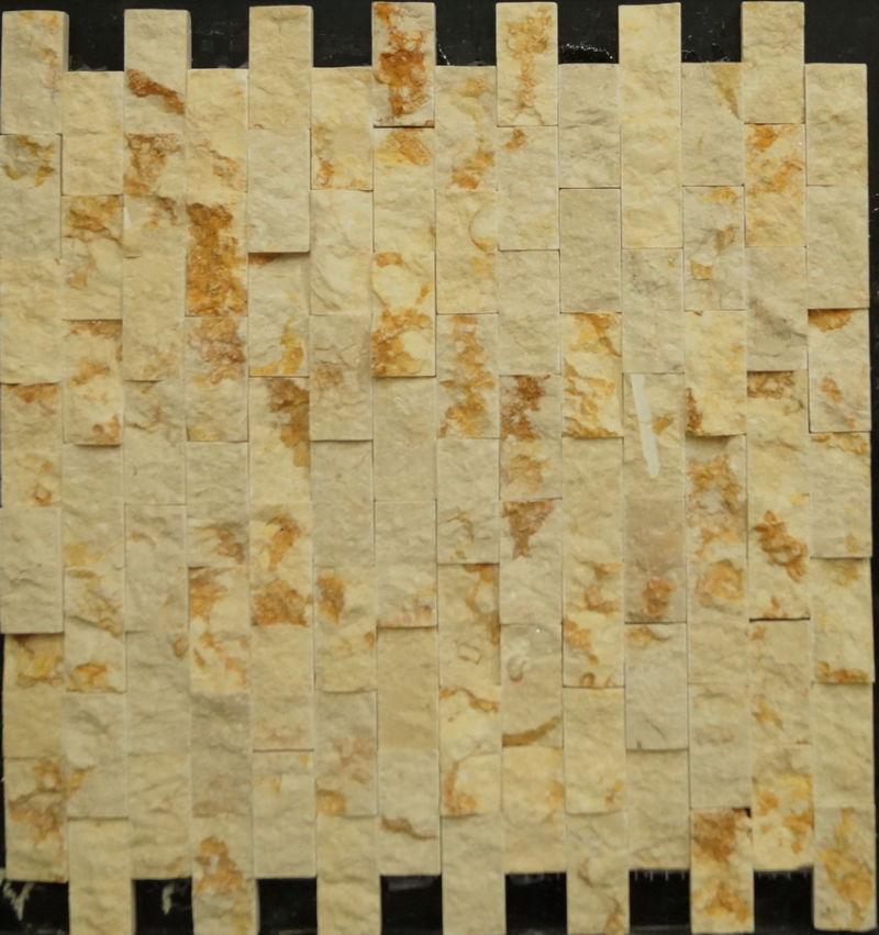 Mattonelle rustiche della pietra del mosaico del marmo del ...