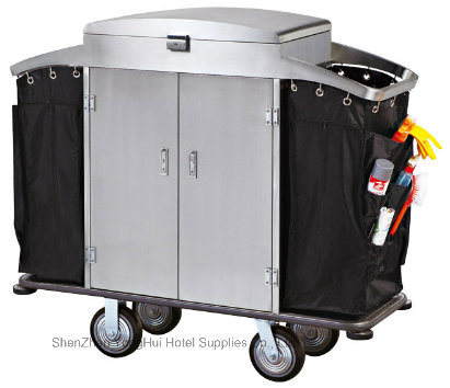 Laundry Trolley Linen Housekeeping Cart