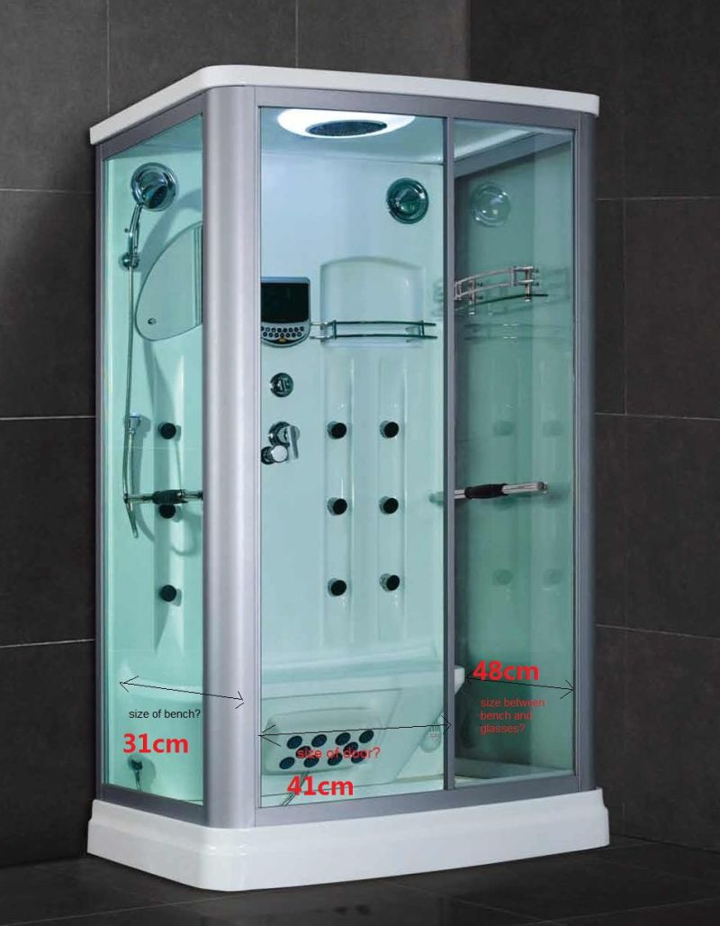 china factory price steam shower simple shower room sr607. Black Bedroom Furniture Sets. Home Design Ideas