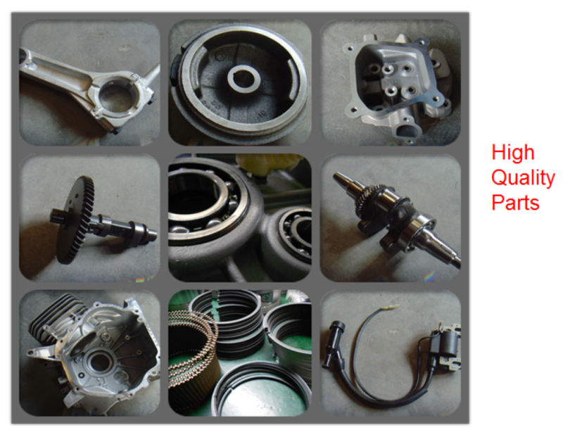 Ohv 168f Gasoline Engine 6.5HP 5.5HP, Manual 168f Small Gasoline Engine
