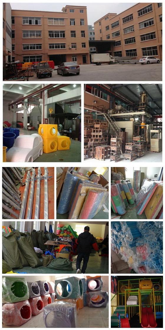 En1176 China Factory Soft Foam Indoor Playground (T1505-9)