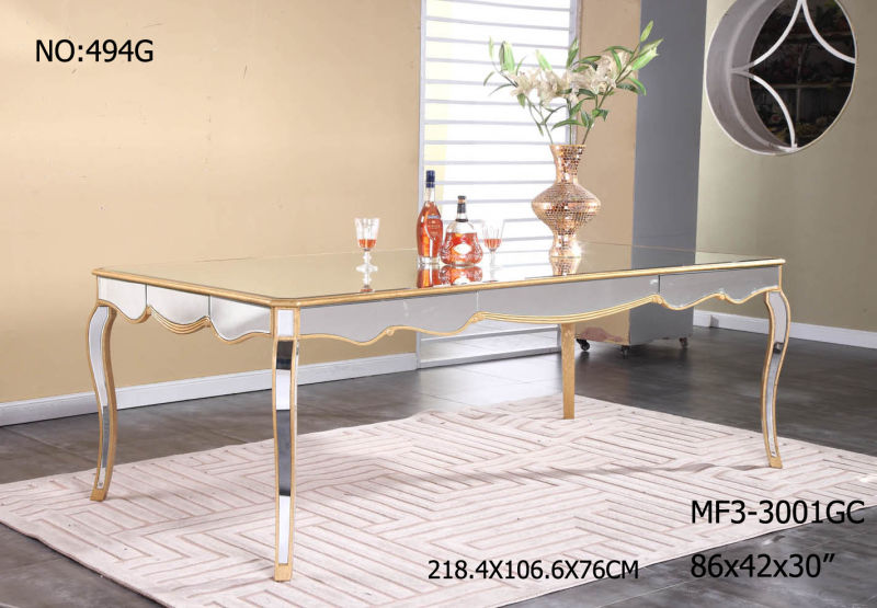 China Hot Sales Long Dining Table Living Room Mirror  : Hot Sales Long Dining Table Living Room Mirror Furniture from yarongfurniture.en.made-in-china.com size 800 x 555 jpeg 77kB