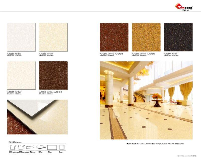 Polish for porcelain floor tiles