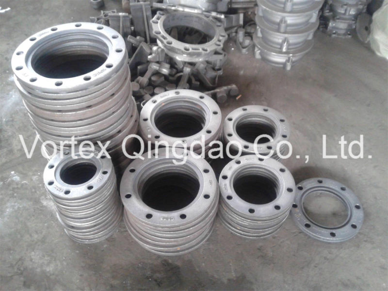China vortex convoluted flange for hdpe pipe isp