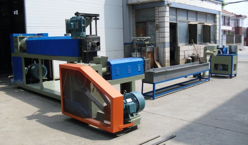 China electric motor screen changer waste pe pelletizer for Electric motor recycling machine
