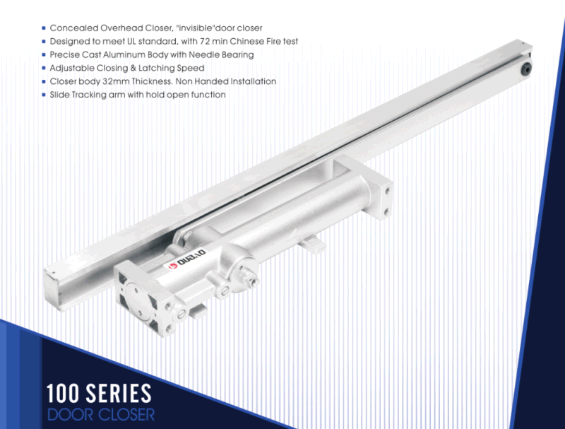 China Concealed Door Closer 100 Series Concealed