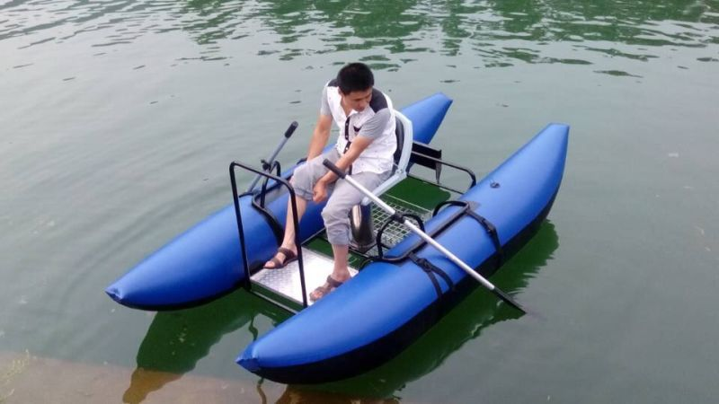 China professional fly fishing dinghy pantoon boat china for Fly fishing pontoon
