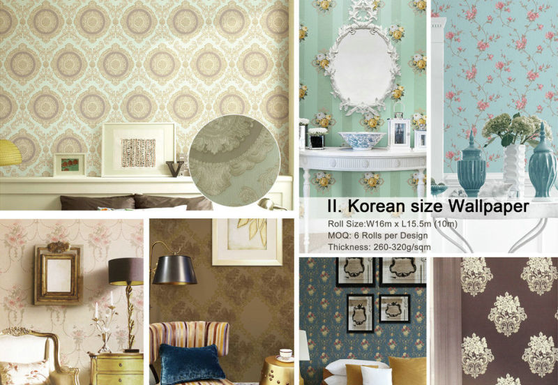 China cheap price wall paper damask designer home for Cheap designer wallpaper
