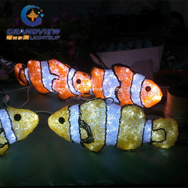 China 3d light decor nemo finding nemo design led fish for Nemo light fish