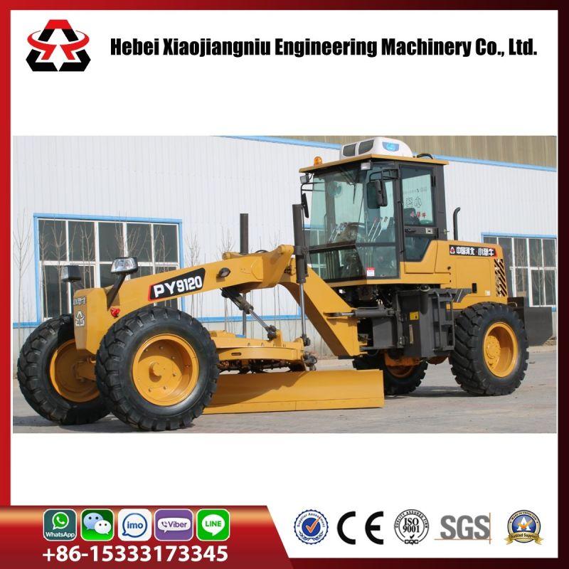 China 120 Hp Mini Motor Grader For Road Construction