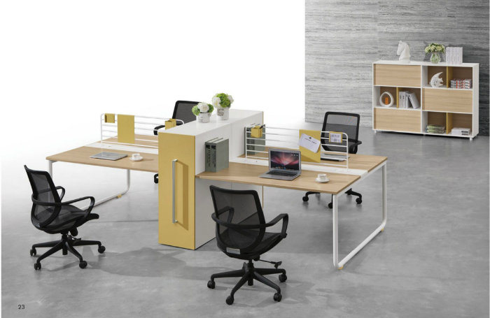 Partition Workstation Melamine Office Desk