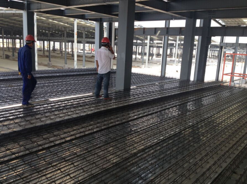 Steel Bar Truss Girder Decking for High-Rise Building
