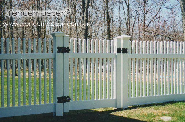 picket fence gate. square picket fence gate