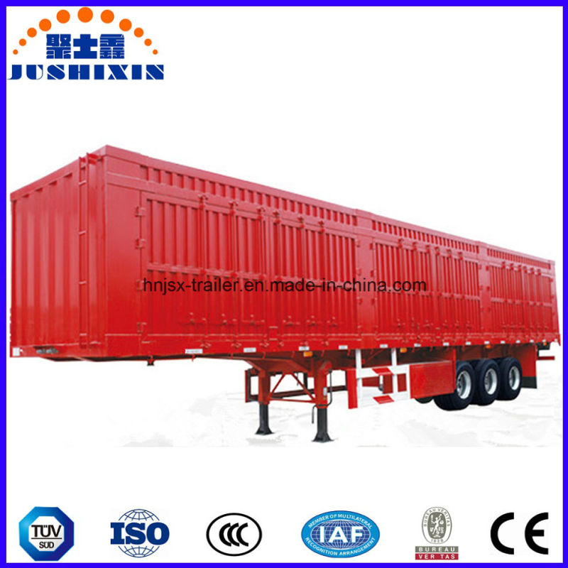 f49b399359 Direct Factory Price 3 Axle Enclosed Van Box Type Cargo Utility Heavy Tractor  Truck