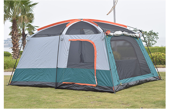 3 Rooms Large Outdoor Camping Tents for OEM
