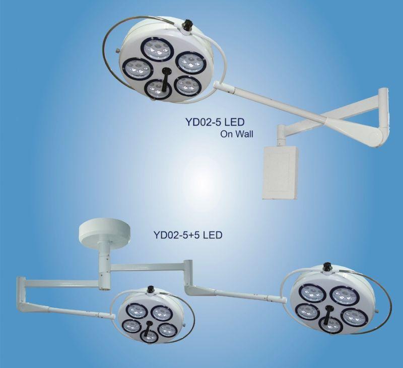 LED Hospital Shadowless Operating Lamp Yd02-5+5LED
