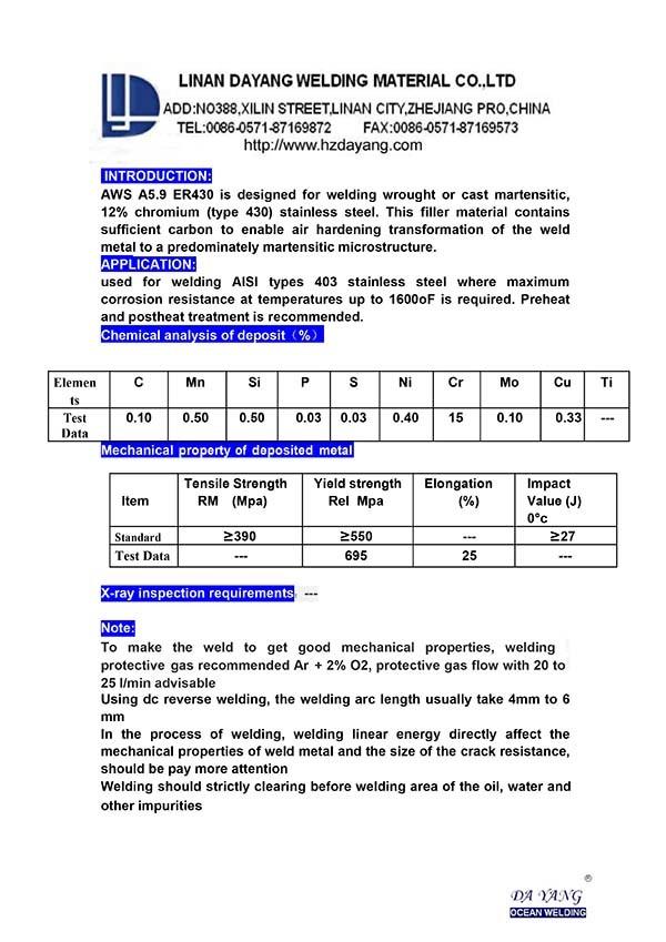 Welding Wire Types - Dolgular.com