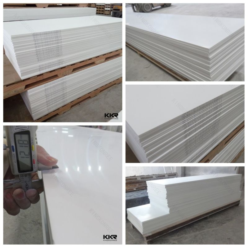 Corian Manufacturing Process: China Solid Surface Production Line / Pure Acrylic Solid