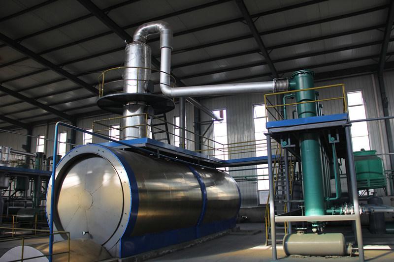 Wwaste Tyre Oil Distillation Plant