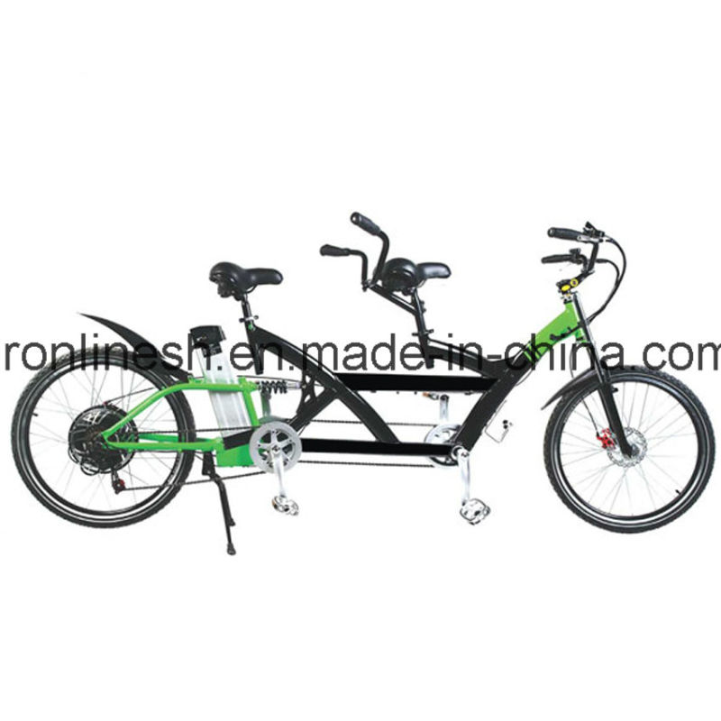 China Quality 250w 350w 500w Electric Tandem Bicycle