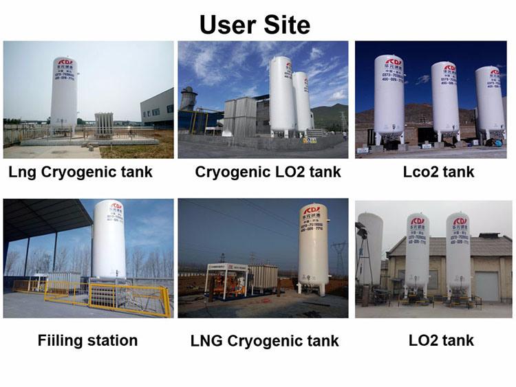 Cryogenic Liquid Oxygen Storage Tank