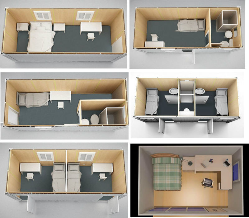 Office Moderne Design Mobile House Prefab Container Home