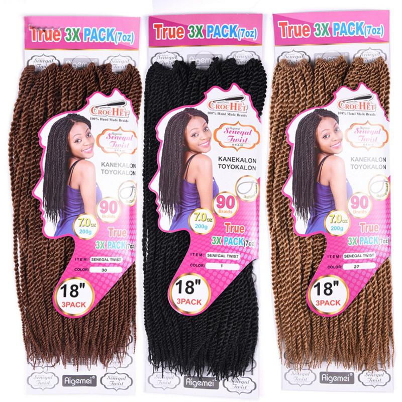 African-Style Pression Braid Wigs