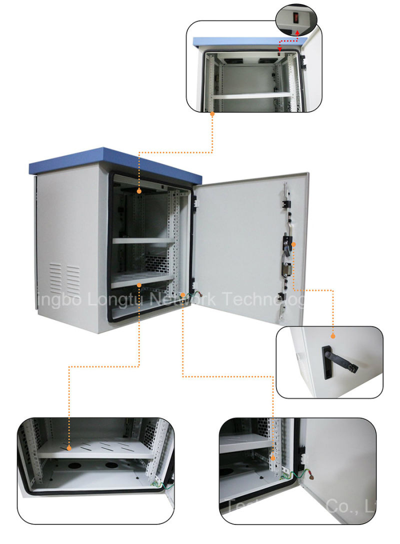 IP55 19'' Outdoor Cabinets for Telecommunication