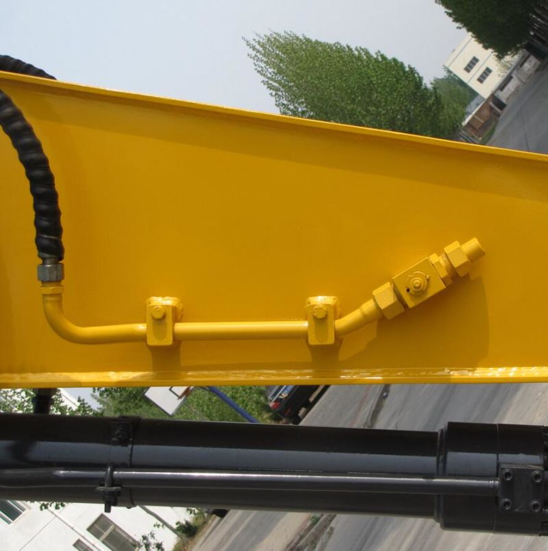 China Supply Yellow 0.7m3 Bucket New Crawler Excavator with ISO9001 Certificate