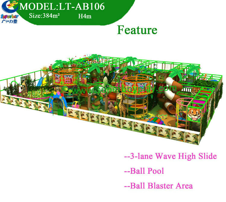 Facotry Price China Plastic Soft Indoor Playground for Kids
