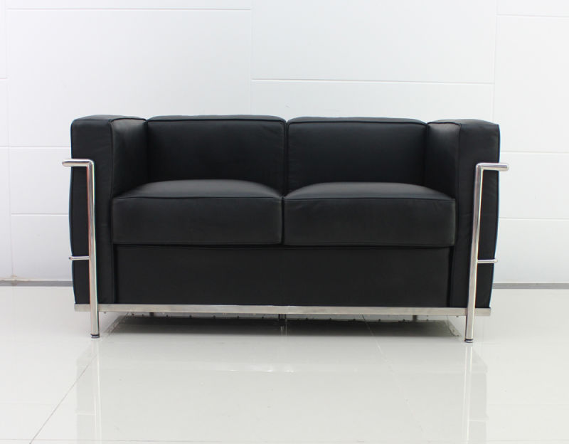 China le corbusier chair and sofa 7017 china le for Sofa 70 cm profundidad