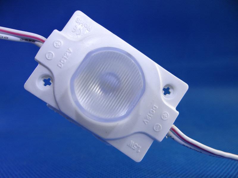 High Brightness 12V IP68 1.5W 1LED 2835 LED Module with Lens
