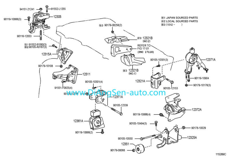 1998 toyota corolla front suspension diagram