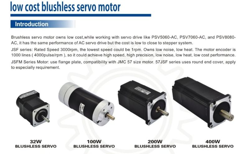 Jmc 140w high speed brushless ac servo motor 3000rpm with for High speed servo motor