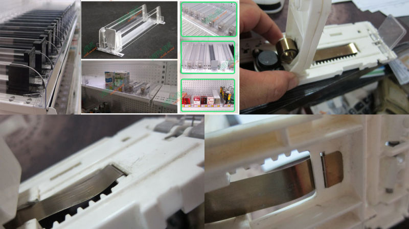 Constant Force Spring for Display Shelf Pusher Twice Lifespan