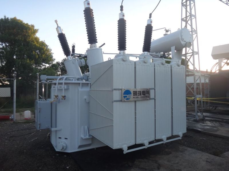china three-phase two-winding onan  onaf oltc  octc oil-immersed power transformer