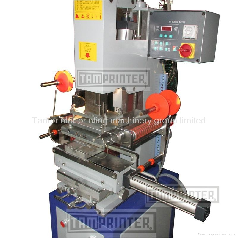 Tgm-100 Pneumatic Plastic Hot Foil Stamping Machine for Bottle, Cup