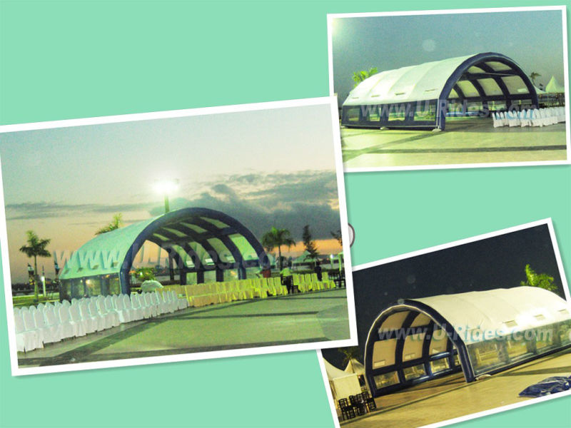 Portable Exhibition Tents : China giant portable inflatable tent for exhibition party