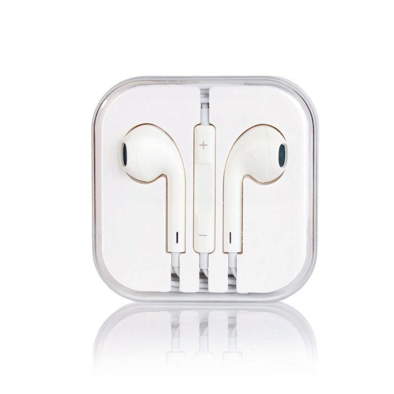 C&T Earpods High Quality Sound New Design Handsfree Stereo Earphones Earbuds with Remote and Microphone for iPhone 6, 6 Plus, 5, 5s, 5c Ipads, Ipods