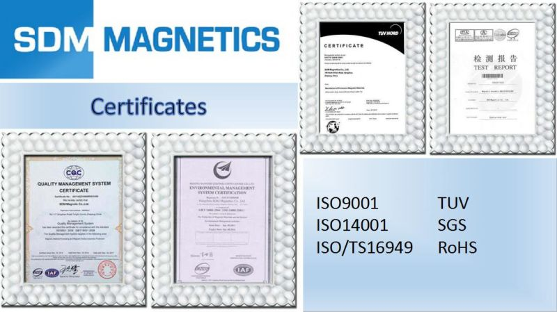 14 Years ISO/TS16949 Strong Permanent Neodymium Magnets