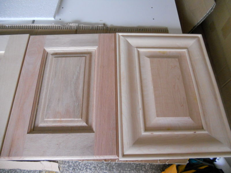 Red oak solid wood kitchen cabinet doors china kitchen cabinet
