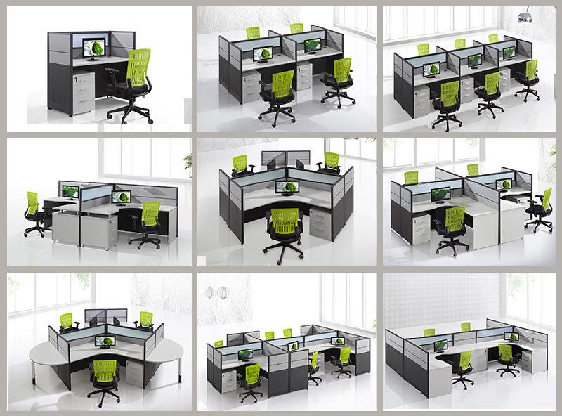 CF 6 Seater Bureau Workstation Meubles De Pour Call Center Utilisez CF