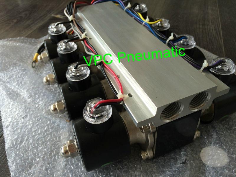 China air suspension valve bag brass mm