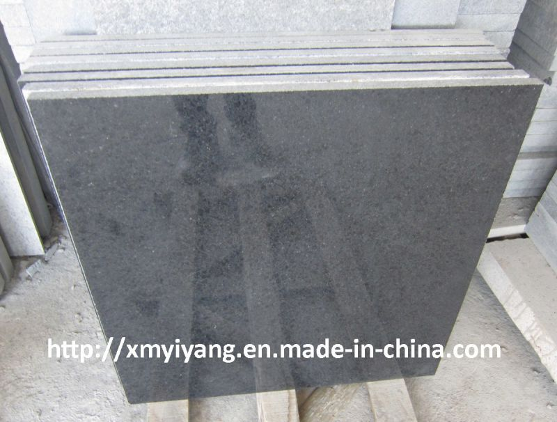 Polished G684 Granite Tiles Black Basalt Tiles Yqc Buy