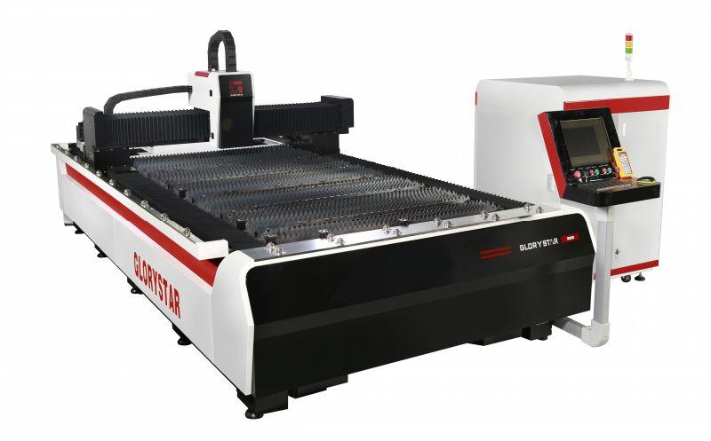 China 1kw Metal Ipg Fiber Laser Cutting Machine Factory