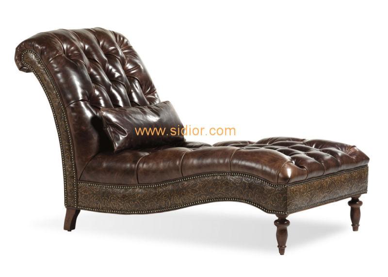 (CL-6630L) Classic Villa Hotel Room Furniture Fabric Leisure Sleeping Lounge
