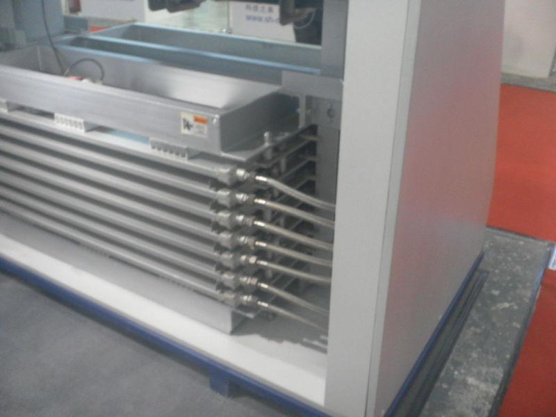 Congelador rápido de la placa del congelador de la ráfaga de congelación rápida de los pescados